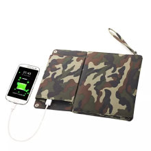 Cargador plegable solar del teléfono móvil de 12W Sunpower para el libro eléctrico del iPad
