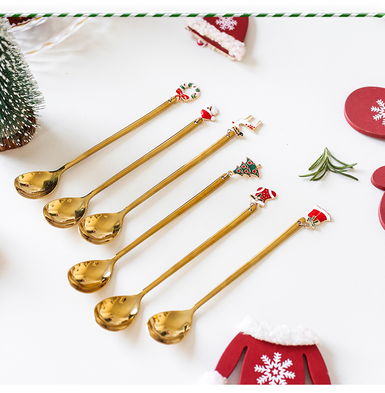 Christmas Coffee Spoon Set