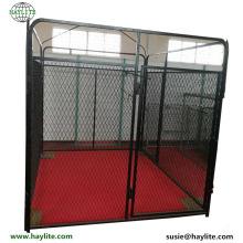 Cajón grande cubierto caliente del animal doméstico del paquete que usa usado para la pluma del perro