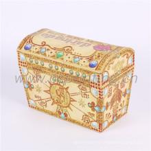 Boîte d'emballage de cadeau de forme de maison de papier de nouvelle conception personnalisée