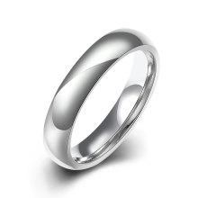 Мода Титана Стали Простой Глазурь Кольцо Посеребренные Ювелирные Изделия