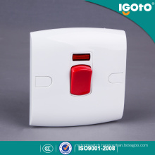 Igoto British Standard Electric Water Heater Wall Switch for Home