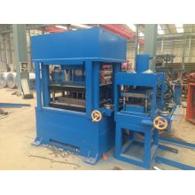 Highway Safety Guardrail Machine With Rail