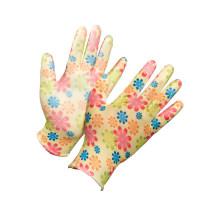 PU Palm Coating Safety Work Glove