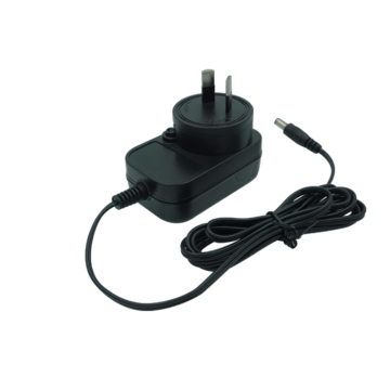 Adaptador de corriente AC / DC intercambiable de 12W