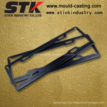 Marco de placa de matrícula de aleación de zinc para accesorios de automóvil (LP001)