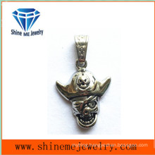 Stainless Steel Casting Jewelry Skull Necklace Pendants