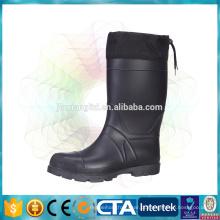 TPR botas quentes impermeáveis botas de inverno com forro de lã
