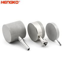 Custom Sintered Porous Stainless Steel Diffusion Stone Air Stone SS Filter Micro Stainless Steel Bubble Diffuser for Ozone