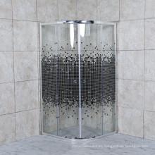 Hot Sale Factory Price 5/6mm Mosaic Glass Portable Shower Enclosure