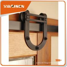 Profesional de molde de diseño de puerta de madera corredera de hardware