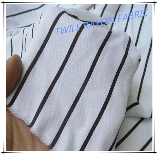 Hot Sale Twill Rayon  Fabric For Garment
