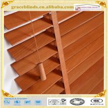 дешевые деревянные жалюзи Басвуд жалюзи деревянные окна затвора