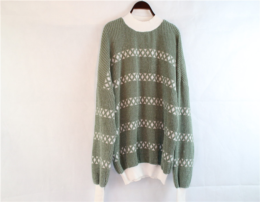 Green Bottoming Sweater