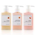 OEM Organic Brightening Grapefruit Perfume Body Lotion