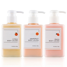 OEM Organic Brightening Grapefruit Parfüm Körperlotion