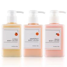 Loción corporal de perfume de pomelo blanqueador orgánico OEM