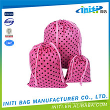 Hot product new design padded drawstring bags