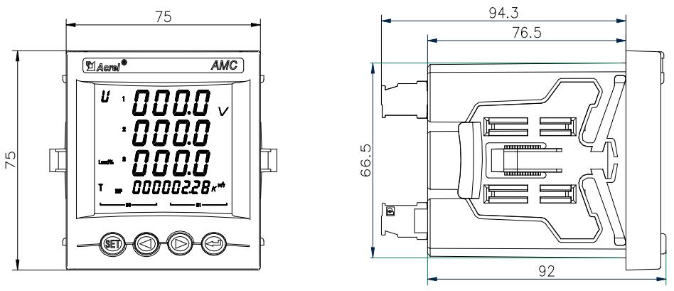 ac panel power meters