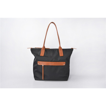 Nylon Weekender Tote Bag Preppy Monogram Bolso de mano