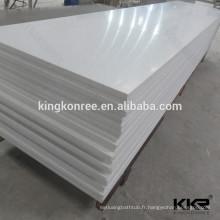 plaque de marbre de granit artificiel de vente chaude pour countertop
