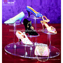 Save Your Shipping Cost And Protect Your Purchase High Heels Shoe Counter Retail Acrylic Display Stands