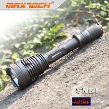 Maxtoch SN51 SST50 1300 Lumens 2*18650 Tactical Military Flashlight