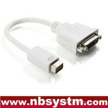 Mini adaptador de cabo DVI para DVI