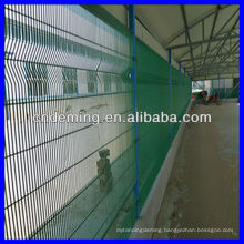 pvc coated galvanized 358 welded security fence ( Factory & Exporter )