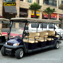 12 seater golf cart electric golf buggy electric sightseeing car shuttle bus