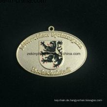 Benutzerdefinierte Znic Legierung Goldmedaille Entlastung Medaille