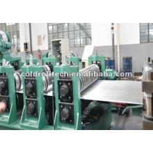 Línea de formación de rollo de panel de silo de acero corrugado