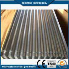 Qualidade principal galvanizado chapa de aço ondulada