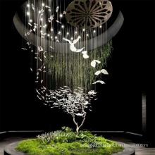 Светодиодный подвесной светильник из нержавеющей стали