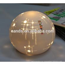 Luz decorativa caliente de la Navidad de la forma de la bola