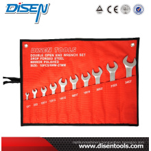 ANSI Double Open End Wrench Set