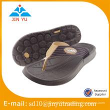 2016 China factory price latest style women and men EVA slipper flip flop