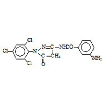 1-(2,4,6-trichlorophenyl)3-(m-amino-benzamido)-5-pyrazolone CAS 40567-18-8