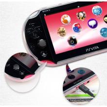 Clear Black White TPU Case Shell capa protetora para Sony PlayStation PS Vita 2000 PSV2000