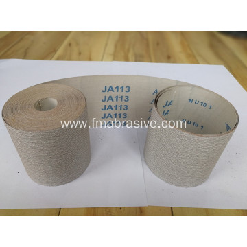 Hand Use Aluminum Oxide coated Abrasive Cloth Ja113