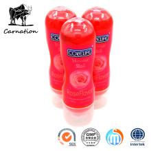 Masaje 2en1 Rose Flavor Sex Lubricant Toys