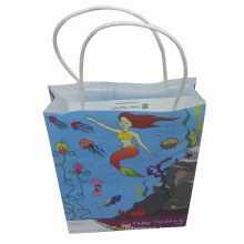Printed Kraft Paper Bag for Shopping and Packing