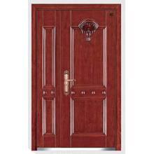 Стальная Деревянная Нутряная Дверь
