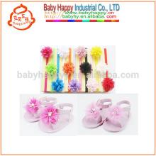 Sandalias de la sandalia del bebé de Open-toed