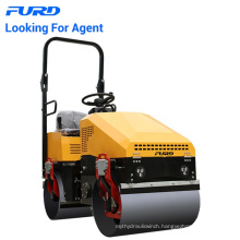 Double Hydraulic Motors Driving 1 Ton Vibratory Drum Roller