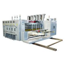 full automatic high speed Corrugated Carton Board Flexo Printing slotting die cutting Machine