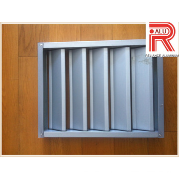 Aluminium/Aluminum Alloy Profile for Install Window and Curtain Wall (RAL-593)
