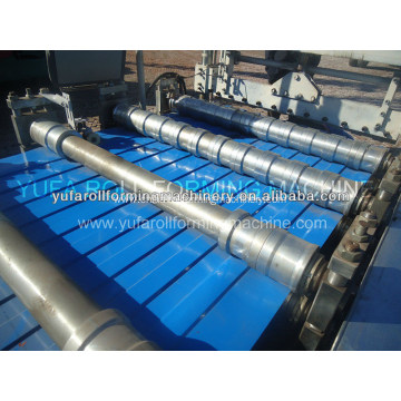 Russian c roof tile roll forming machine