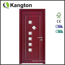 New 6mm Modle PVC Door with Glass (PVC glass door)