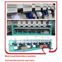 Industrial High Precision Multi Heads Mixed Computer Embroidery Machine Price